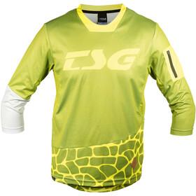 TSG AK3 Kortærmet cykeltrøje Herrer, olive-yellow